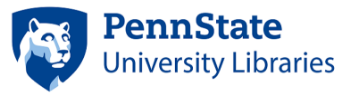Penn State – University Libraries